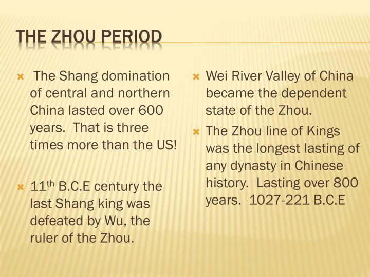 The Zhou Period