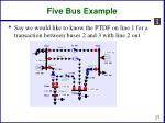 five bus example3