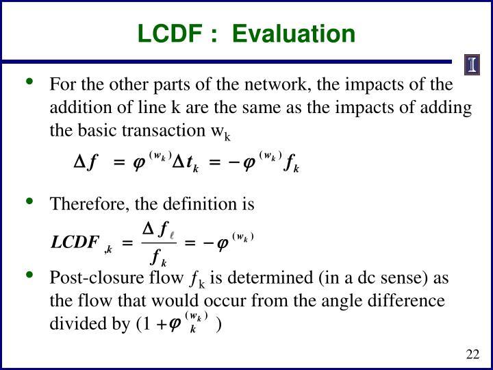 LCDF :