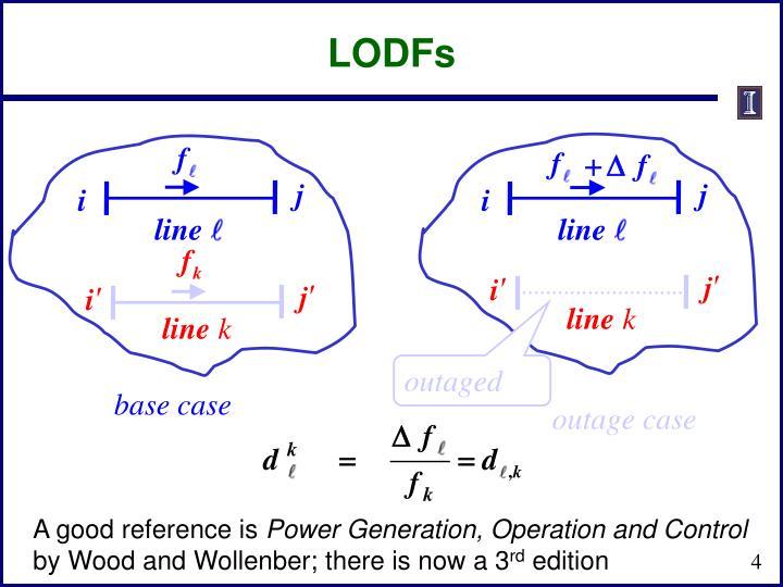 LODFs