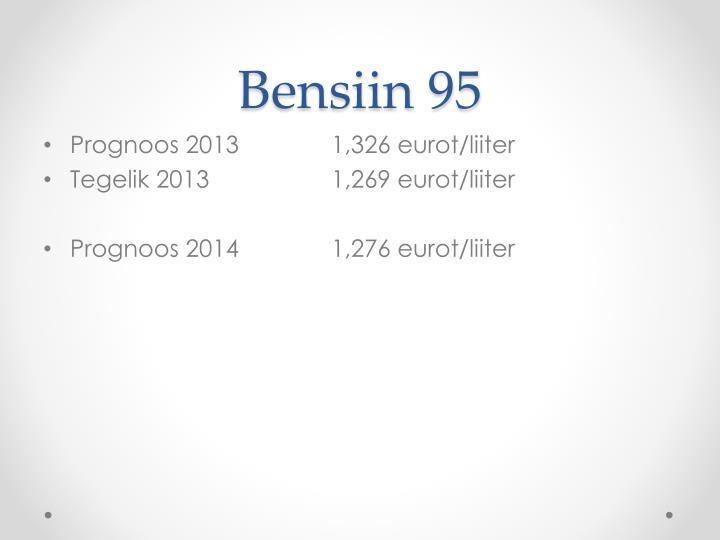 Bensiin 95