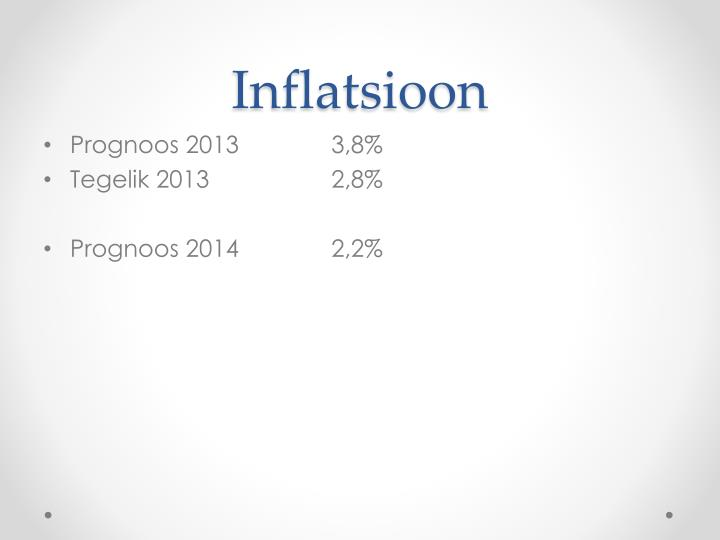Inflatsioon