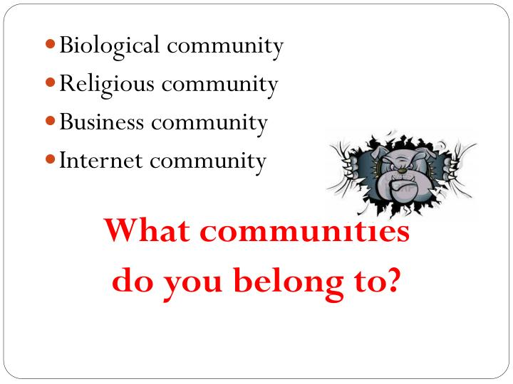 Biological community
