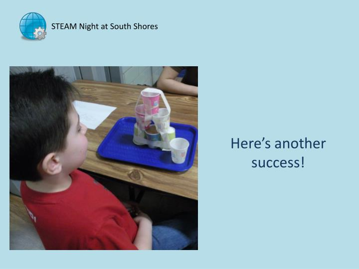 STEAM Night at South Shores