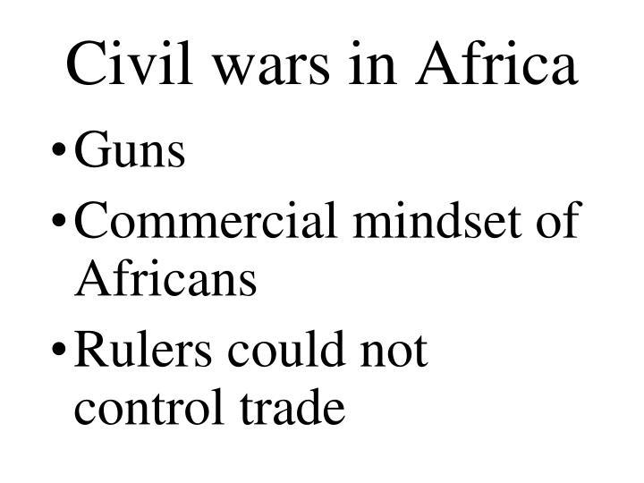 Civil wars in Africa