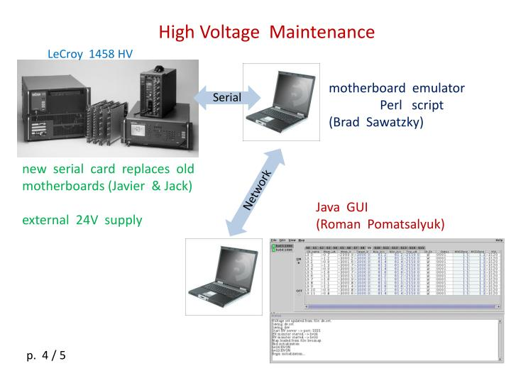 High Voltage  Maintenance
