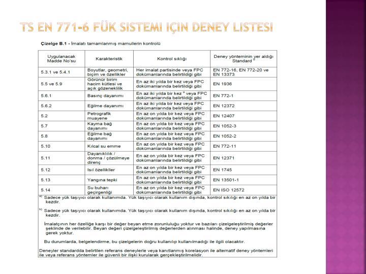 TS EN 771-6