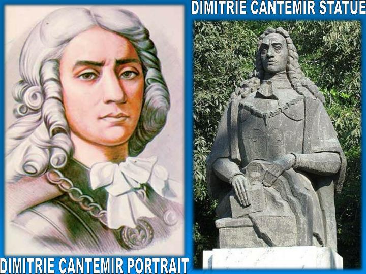 DIMITRIE CANTEMIR STATUE