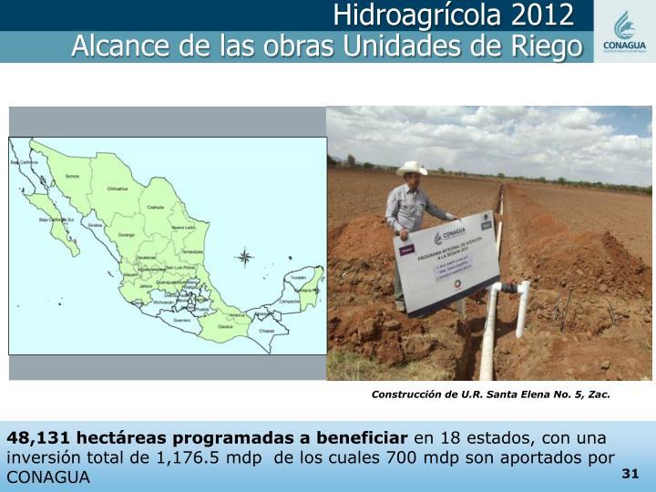 Hidroagrícola 2012