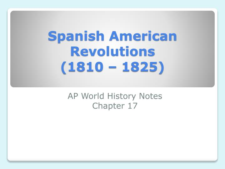 ap world history revolutions essay Ap world history chapter outlines use these sample ap us history essays to get ideas for your own ap essays apush sample essays.