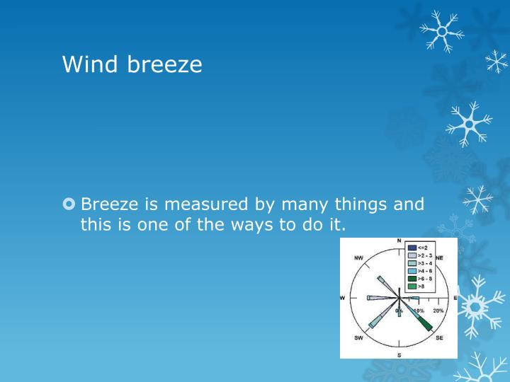 Wind breeze