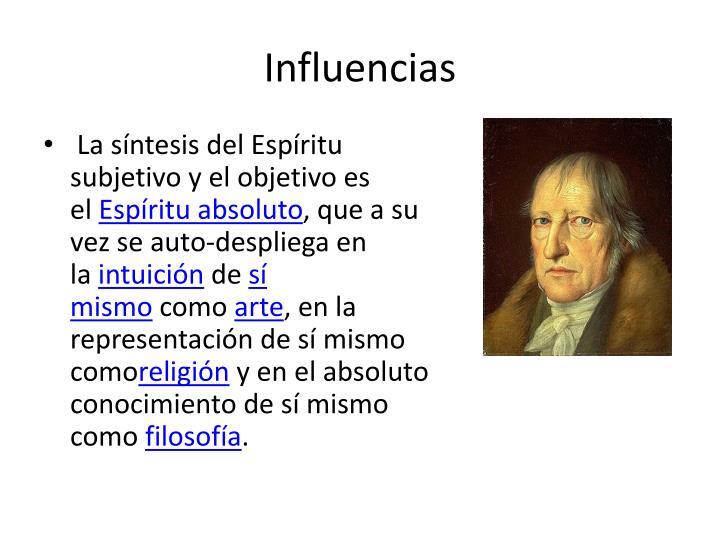Influencias