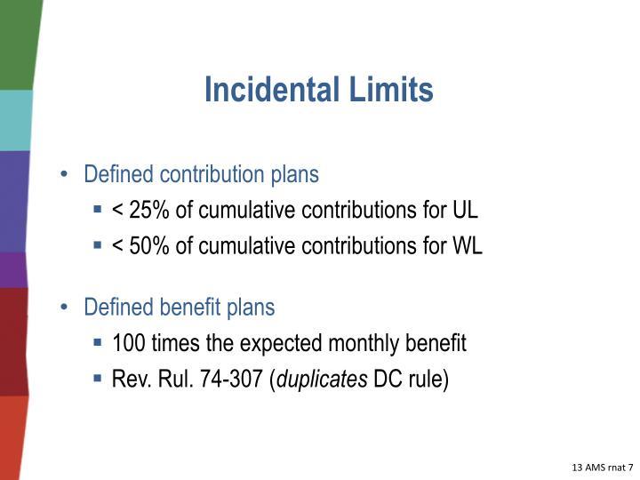 Incidental Limits