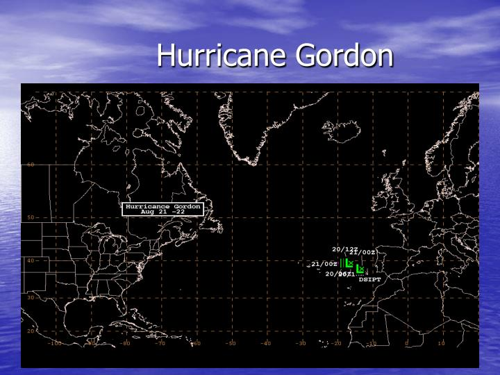 Hurricane Gordon