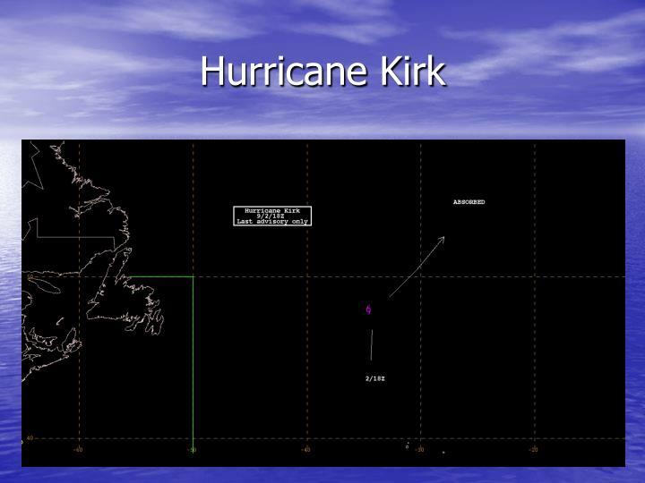 Hurricane Kirk
