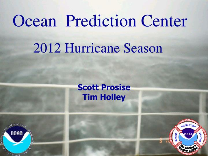 Ocean  Prediction Center