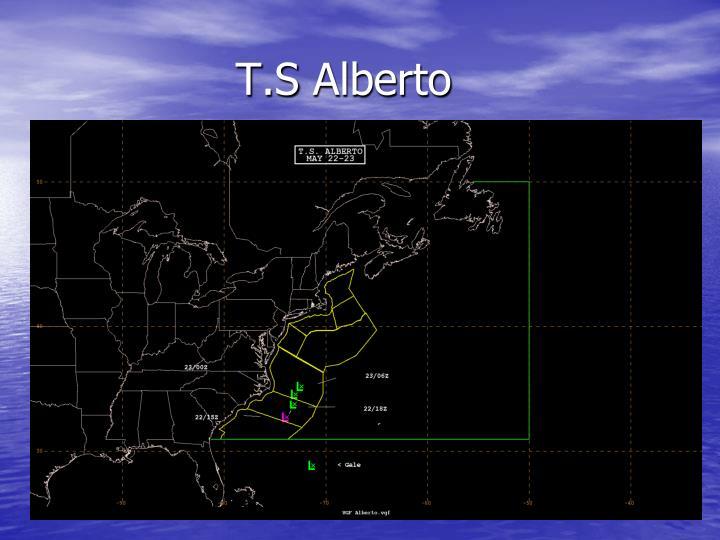T.S Alberto