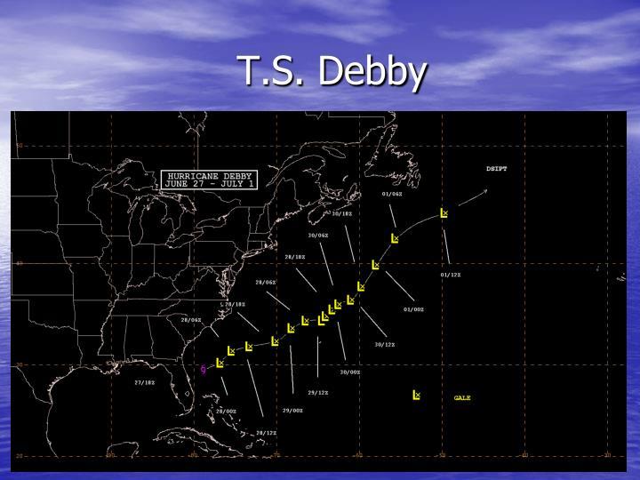 T.S. Debby