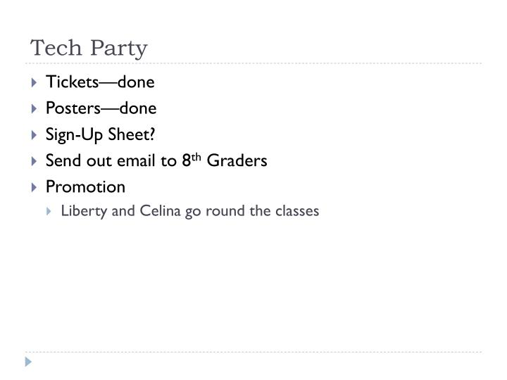 Tech Party