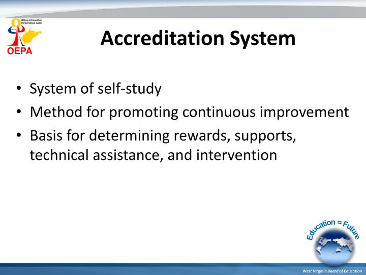 Accreditation System