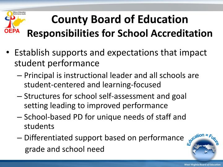 County Board of Education