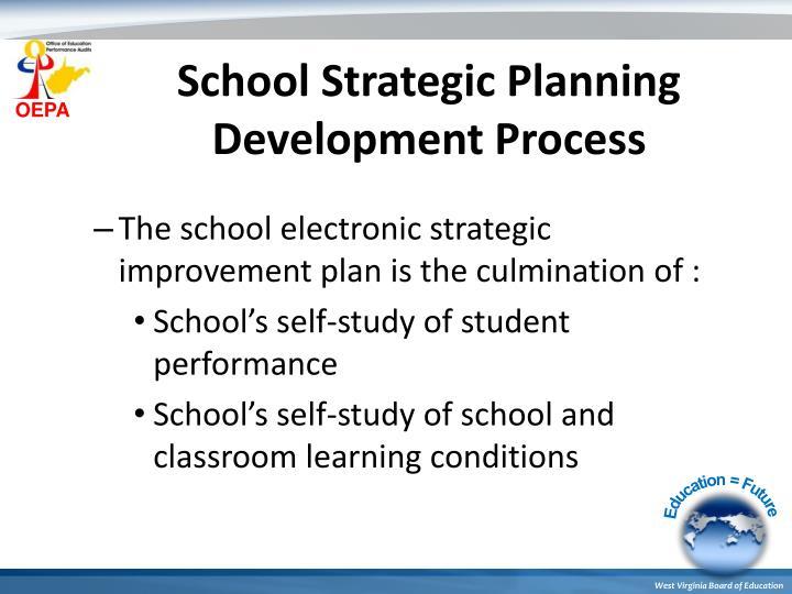 School Strategic Planning