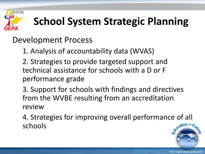School System Strategic Planning