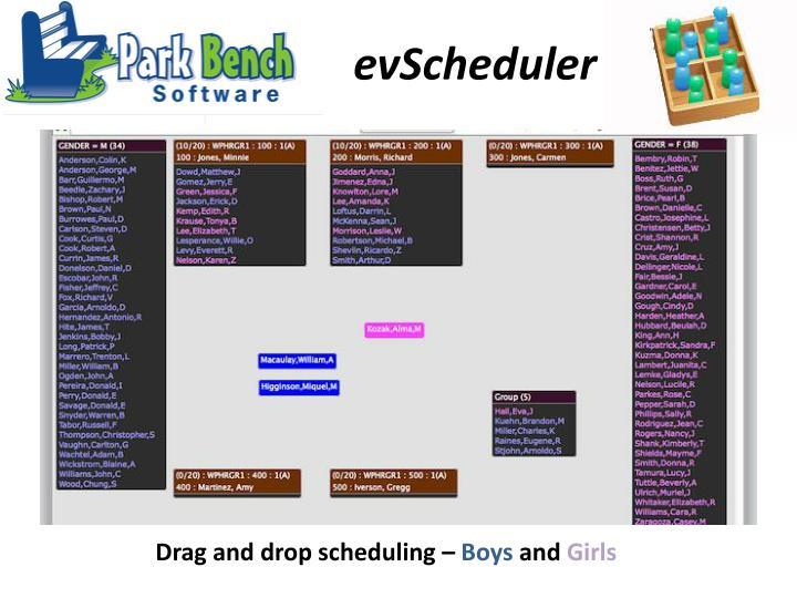 evScheduler