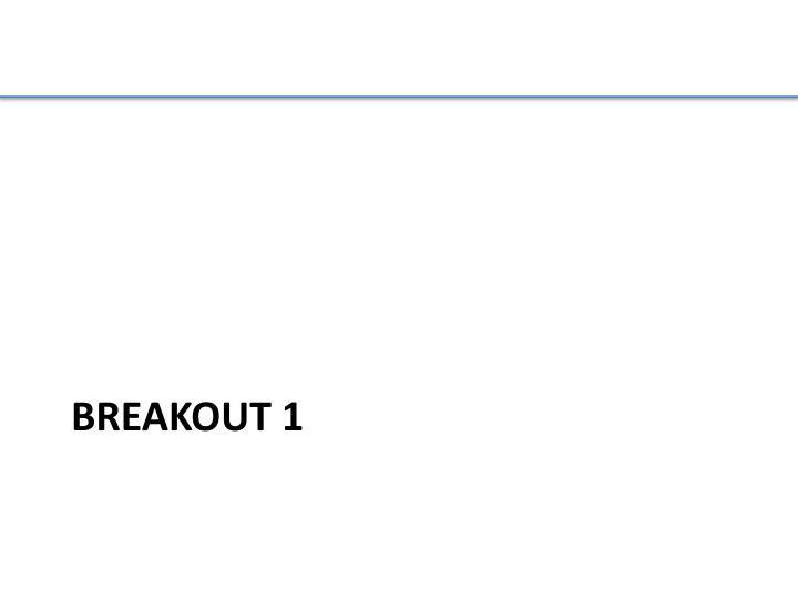 Breakout 1