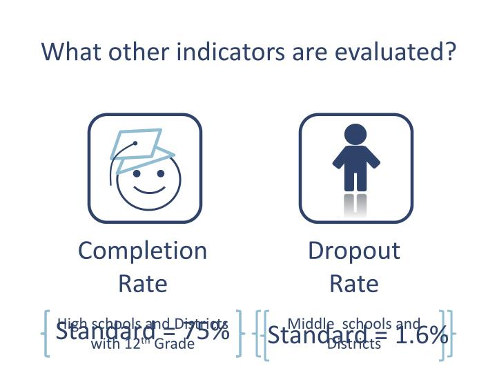 What other indicators are evaluated?