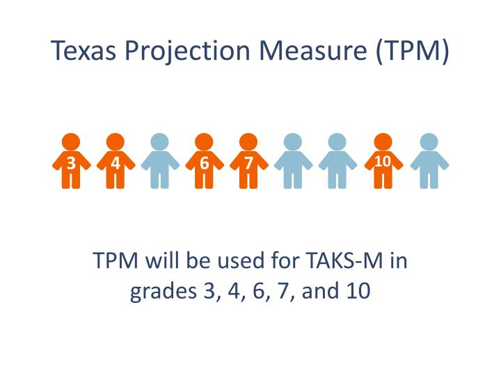 Texas Projection Measure (TPM)