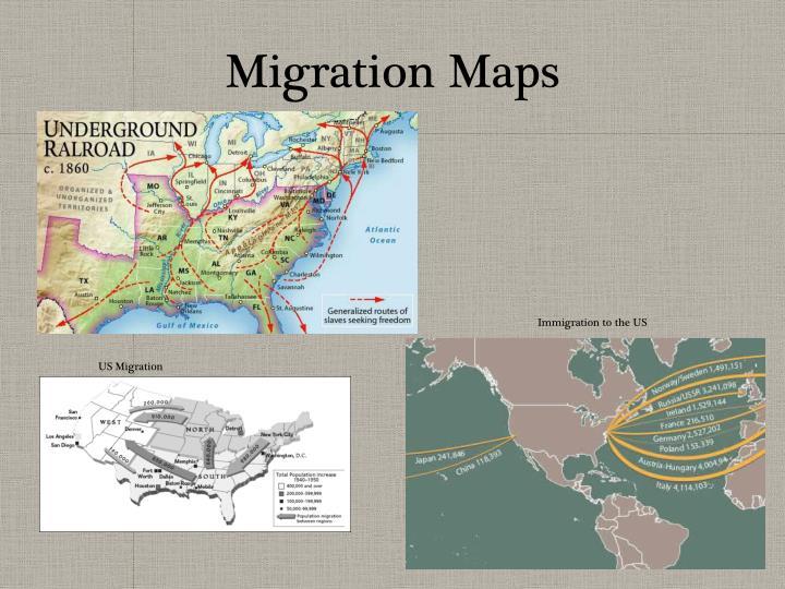 Migration Maps