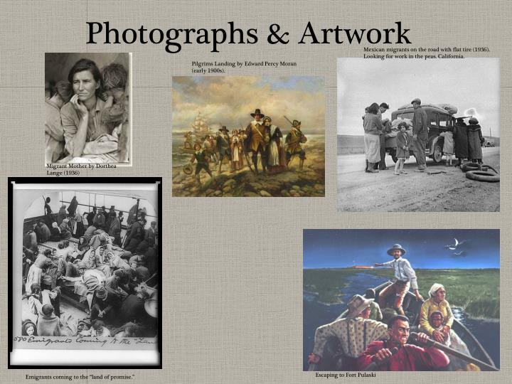 Photographs & Artwork