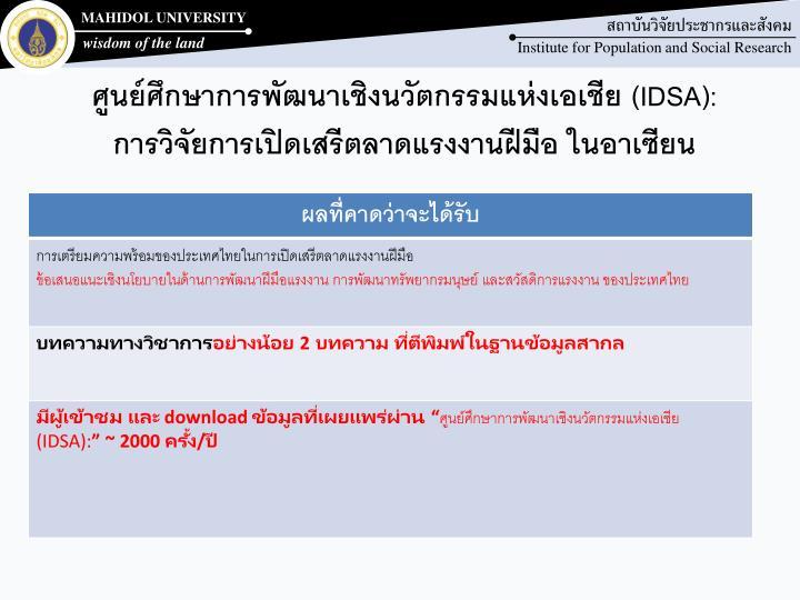 ศูนย์ศึกษาการพัฒนาเชิงนวัตกรรมแห่งเอเชีย (