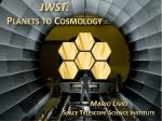 jwst planets to cosmology