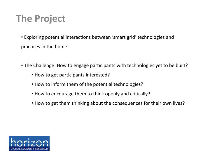 Exploring potential interactions between 'smart grid' technologies and practices in the home