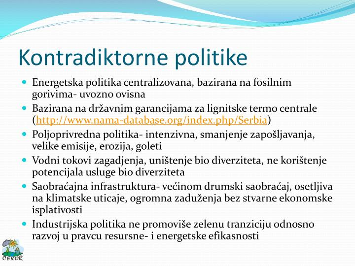 Kontradiktorne politike