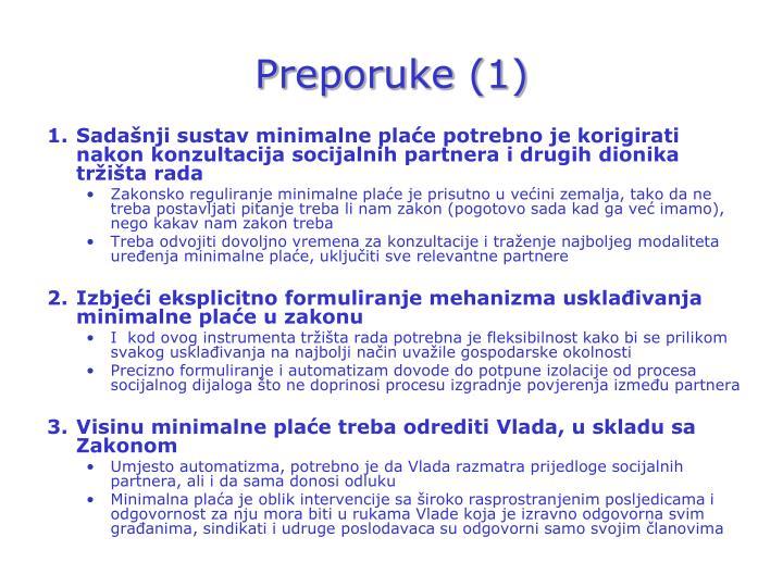 Preporuke (1)