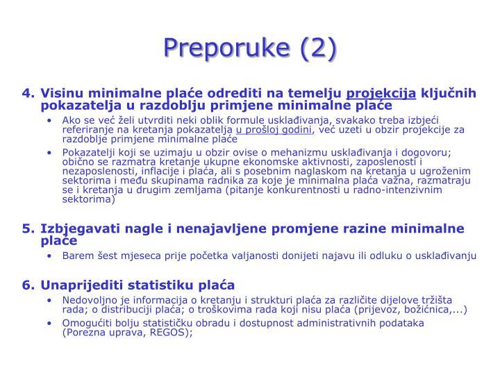 Preporuke (2)