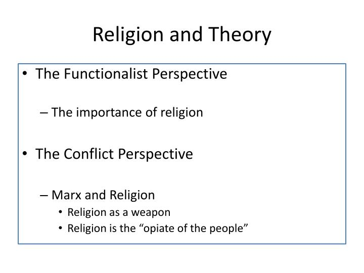 Religion and Theory