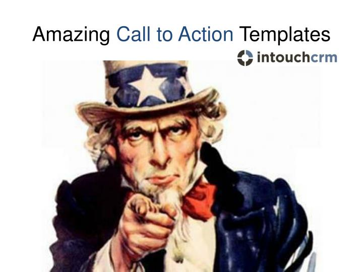 Amazing call to action templates