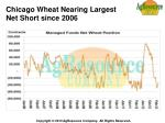 chicago wheat nearing largest net short since 2006