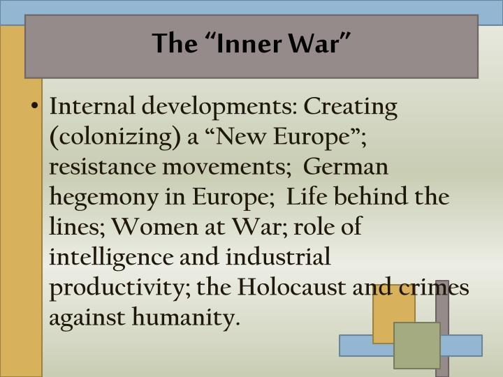 """The """"Inner War"""""""