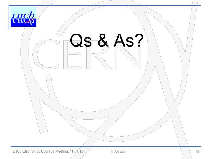 Qs & As?