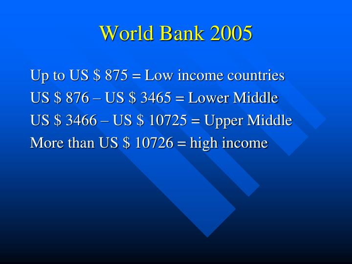 World bank 2005