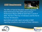 osep requirements