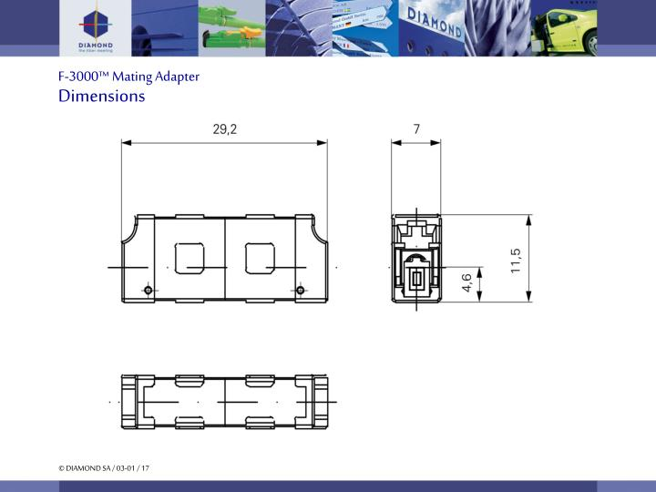 F-3000™ Mating Adapter