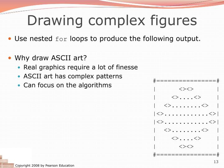 Drawing complex figures