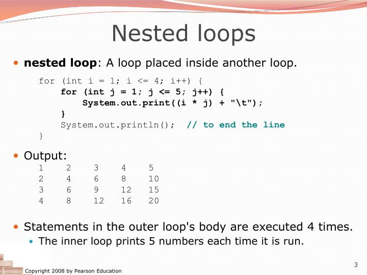 Nested loops1