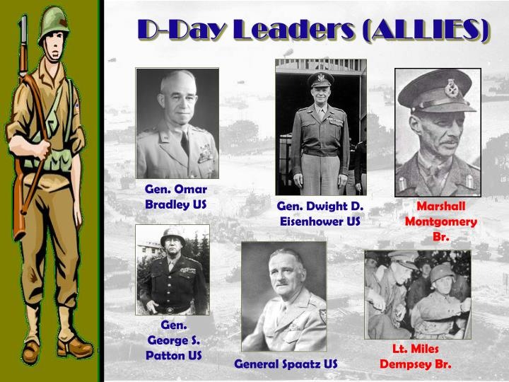 D-Day Leaders (ALLIES)